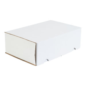 340x230x110mm Single Wall White Postal Boxes