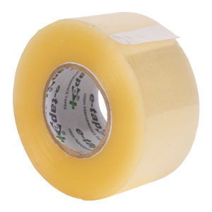 Clear e-tape