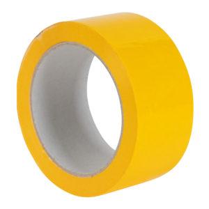 50mm x 66M Yellow Vinyl Tape