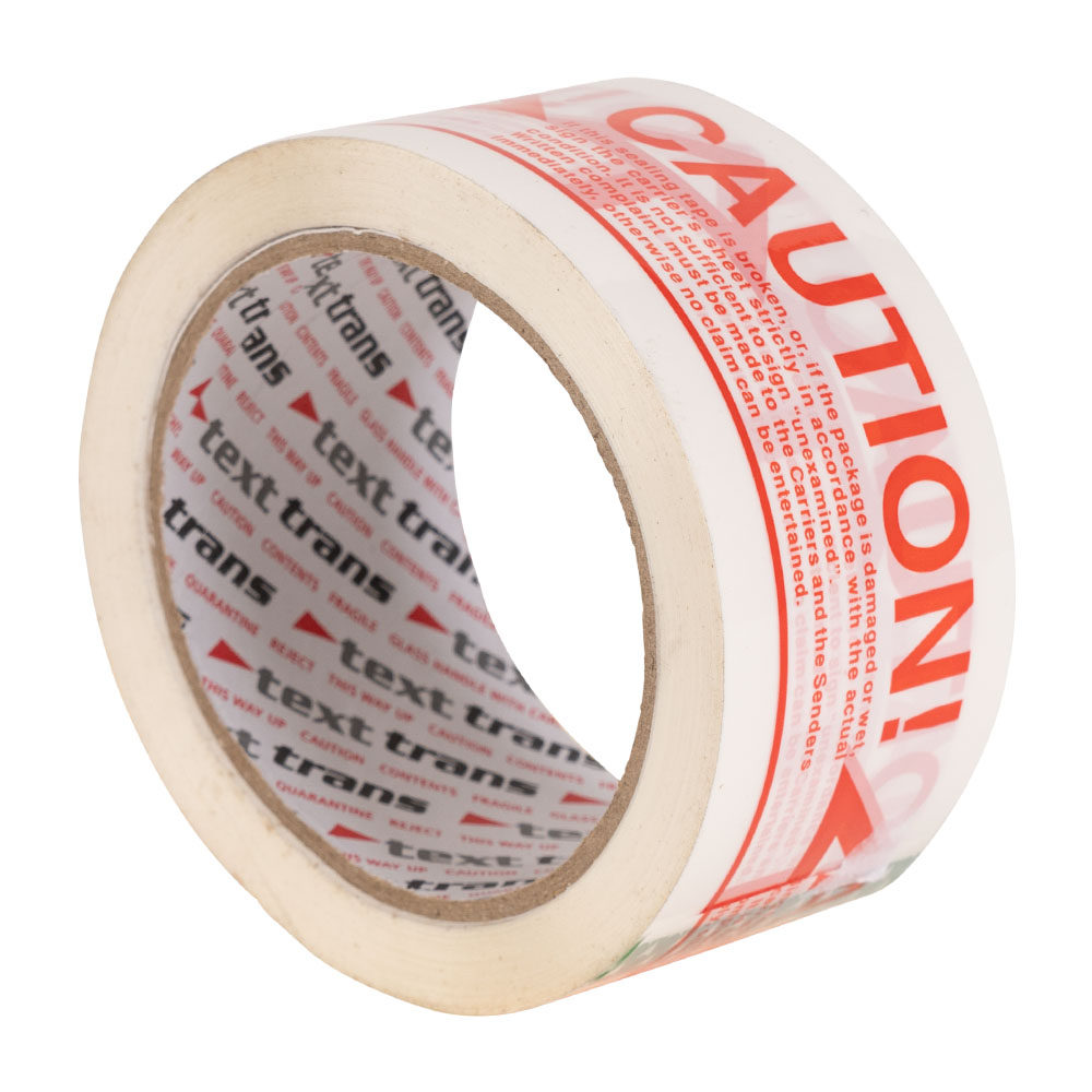 Caution Printed Tape