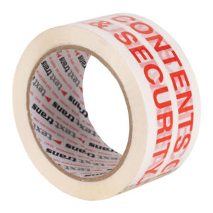 Contents Checked Printed Tape