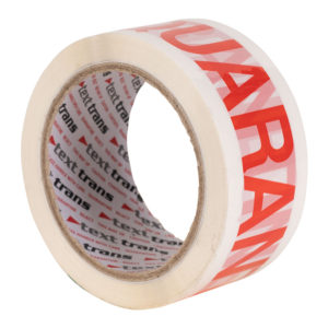 Quarantine Printed Tape