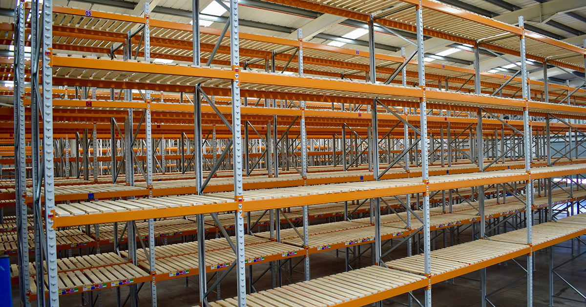 Springpack warehouse racking
