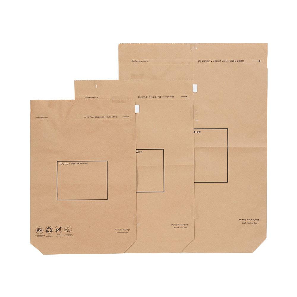 Kraft Paper Mailing Bags