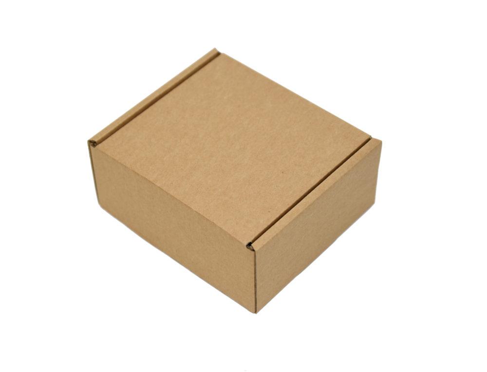 164x150x75mm Single Wall Brown Postal Boxes
