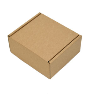 164x150x75mm Single Wall Brown Postal Boxes