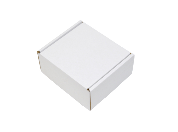 155x125x95mm Single Wall White Postal Boxes