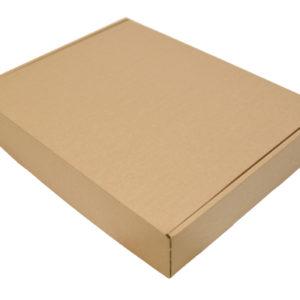 430x340x75mm Single Wall Brown Postal Boxes