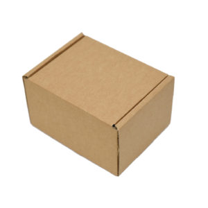 150x125x95mm Single Wall Brown Postal Boxes