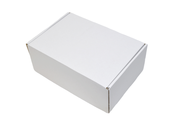 379x255x150mm Single Wall White Postal Boxes