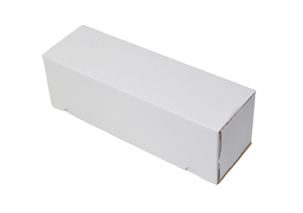 340x110x110mm Single Wall White Postal Boxes
