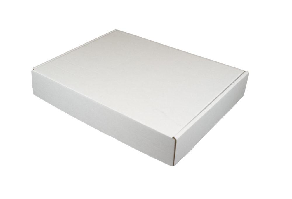430x340x75mm Single Wall White Postal Boxes