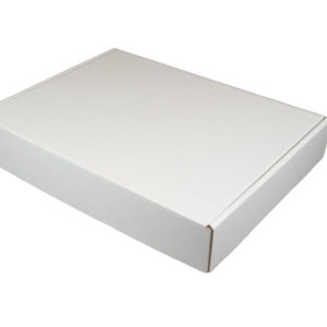 430x340x75mm Single Wall White Postal Boxes