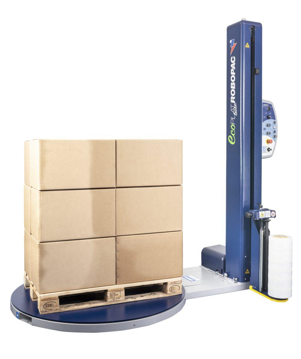 Robopac Ecoplat Plus Base Pallet Wrapping Machine