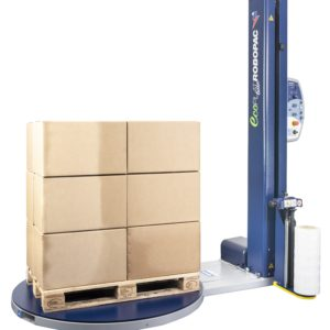 Robopac Ecoplat Plus Base Pallet Wrapping Machine