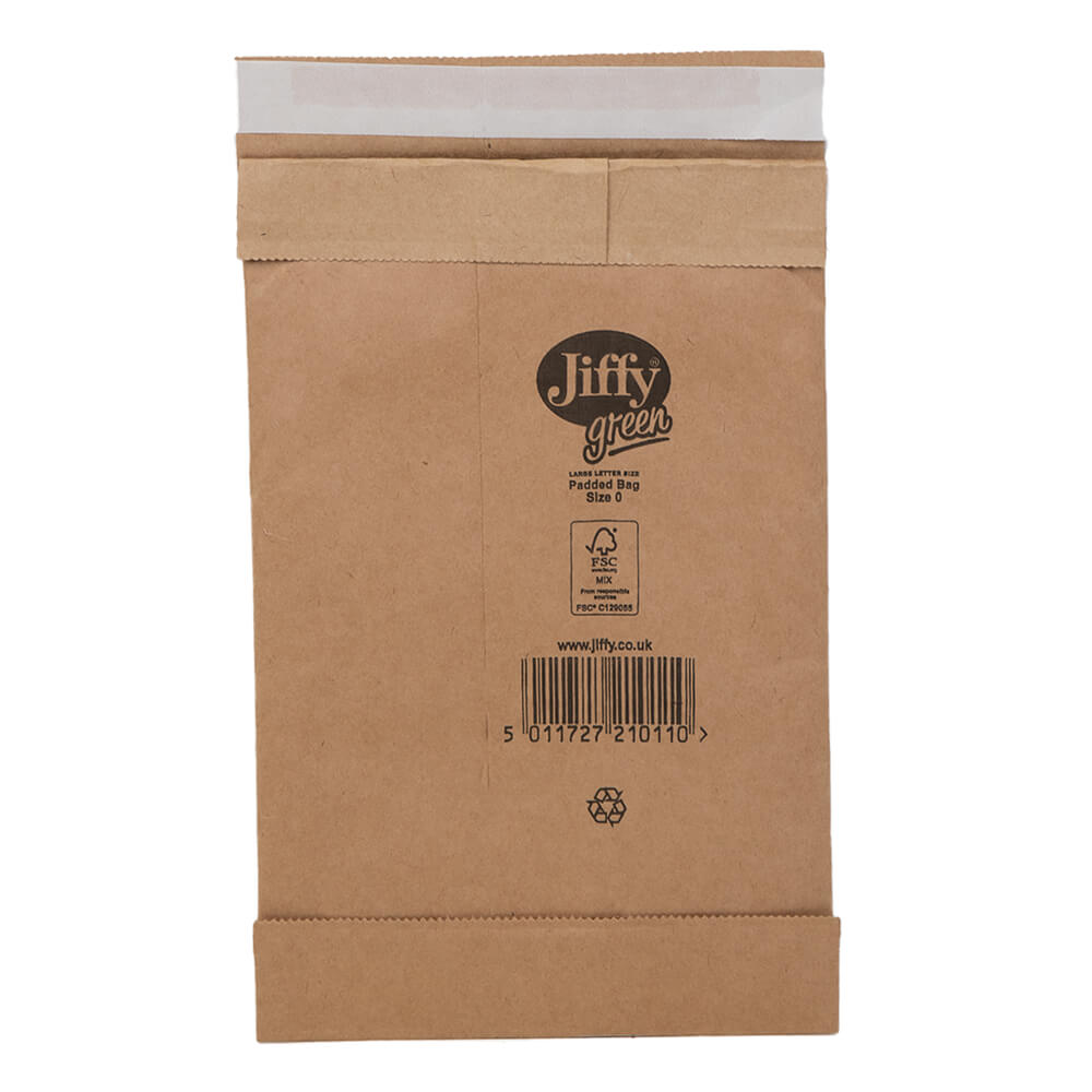 Size 0 Jiffy Padded Bags