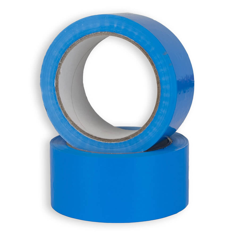 50mm x 66M Blue Vinyl Tape