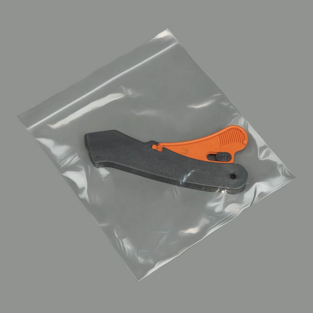 PG 10 Plain Reseal Bags